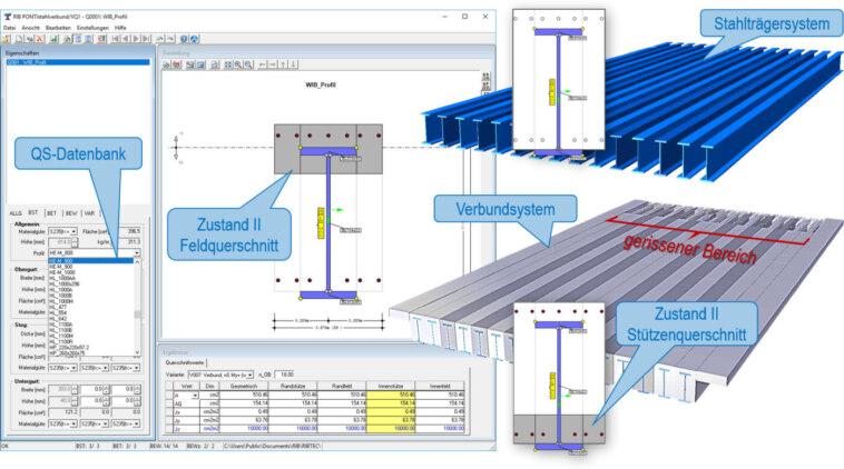 Brückenbausoftware für WIB-Brücken