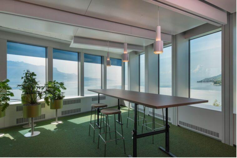 Verglasung: Nestlé setzt auf intelligente Lösung bei Gebäude B