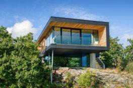 Fassaden, Fenster und Türsysteme inspiriert von der Landschaft