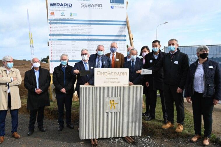 Spezialaufzüge: Serapid legt Grundstein für neuen Standort