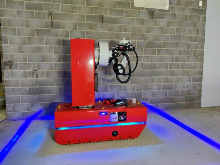Bauroboter mit BIM-Anbindung