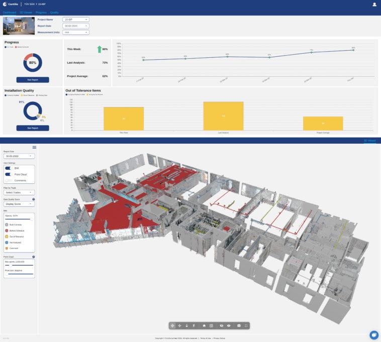 Qualitätskontrolle für Bauprojekte: TÜV Süd und Contilio setzen auf Künstliche Intelligenz