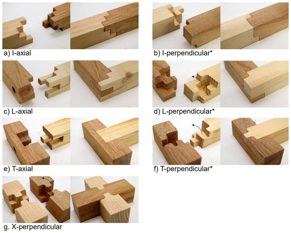 Holzverbindungen kombinieren
