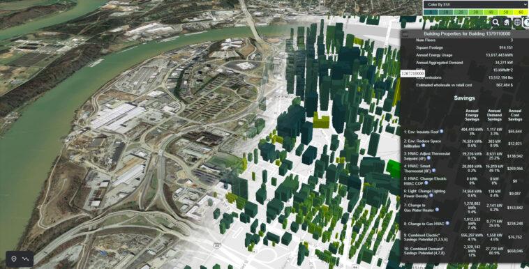 Energieeffizienz: ORNL erstellt digitalen Zwilling von 129 Millionen Gebäuden in den USA